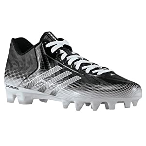 Adidas Crazyquick Mens Football Cleats 11.5 Black-White