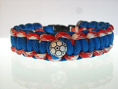 soccer-sports-tactical-wristband-survival-bracelet-blue-red-white-size-8-usa-paracord
