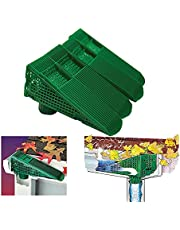 The Gutter Guard - Wedge Eliminates Downspout Pipe Clogs From Leaves and Debris - 4-Pack (Green)