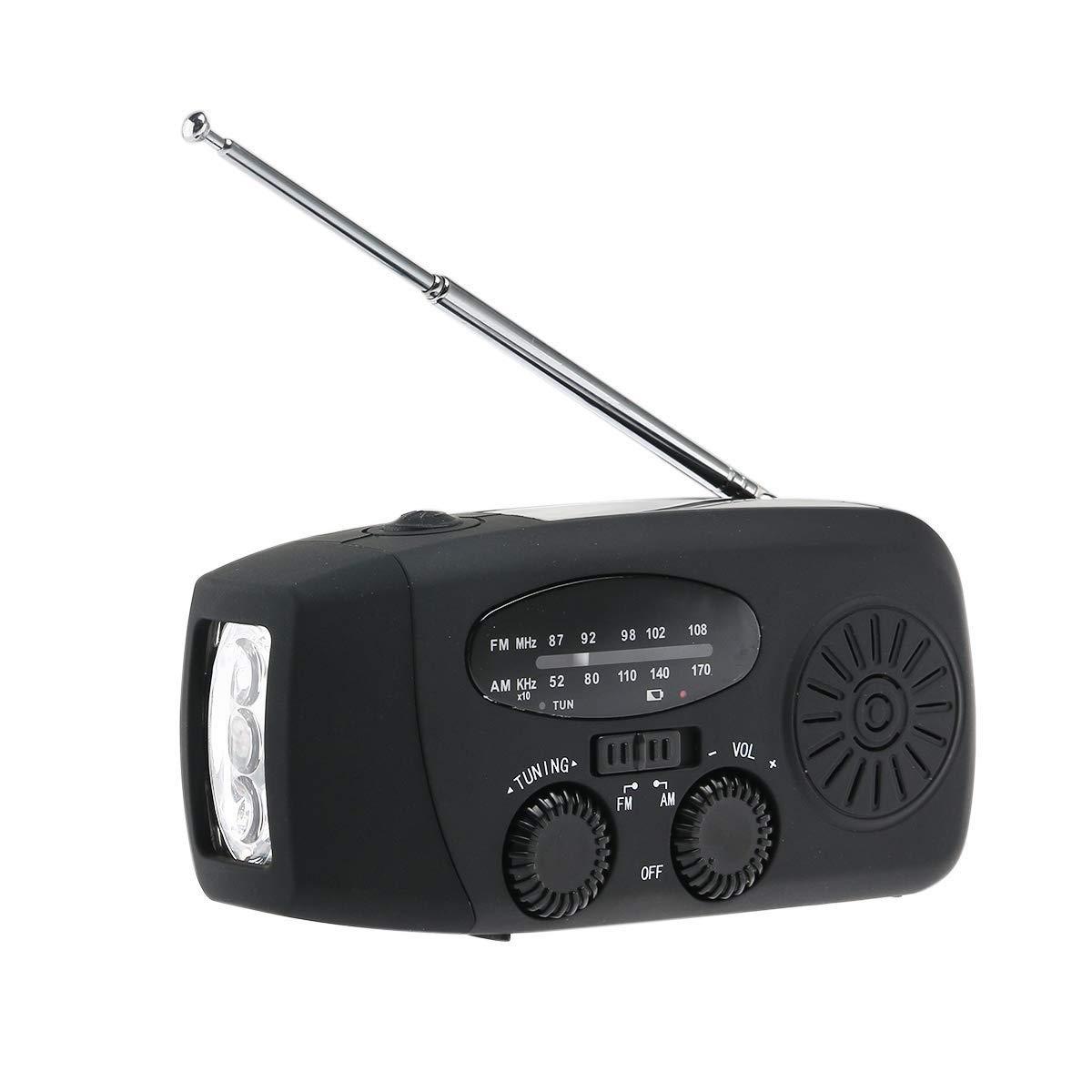 XiaoZou Altavoz inalámbrico Bluetooth portátil Radio FM portátil ...
