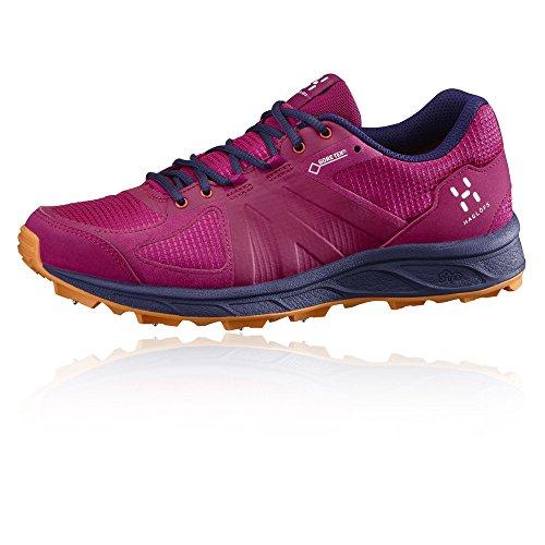 Haglofs Gram Zapatilla Running De Clavos II GORE-TEX Womens Zapatilla De Correr Para Tierra - AW16 Rosa