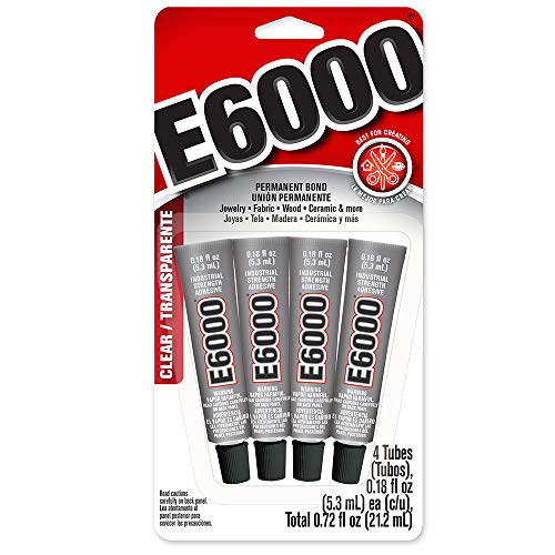 E6000 5510310 Craft Adhesive Mini (4 Pack)