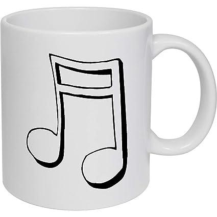 Azeeda 320ml Símbolo Musical Taza de Ceramica (MG00008507 ...