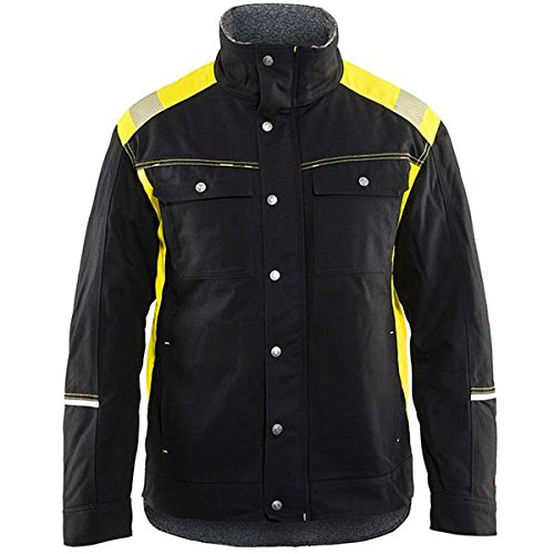 Blaklader 491513709933S Winter Jacket, Size S, Black/Yellow