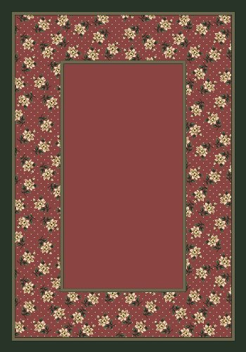 Design Center Rambling Rose Rose Quartz Rug Rug Size: Runner 2'4