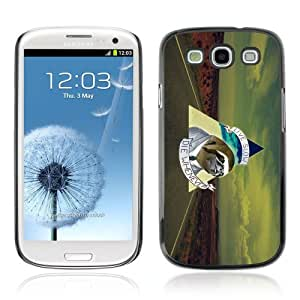 Designer Depo Hard Protection Case for Samsung Galaxy S3 / Business Sloth Message
