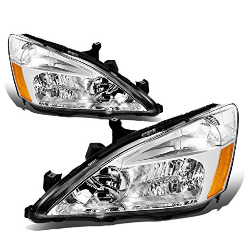DNA MOTORING HL-OH-HA03-CH-AB Headlight Assembly