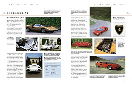 The Complete Illustrated Encyclopedia of Classic Cars: The World'S Most Famous And Fabulous Cars, From 1945 To 2000, Shown In 1800 Photographs