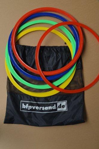12er Set Agility Rings - Koordinationsringe mit Tasche