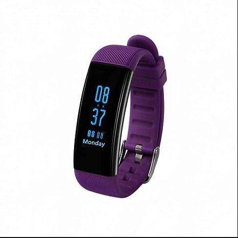 Fitness Smart Armband Monitor de frecuencia cardíaca SportUhr podómetro Smartwatch Tensiómetro de medición inteligente de pulsera