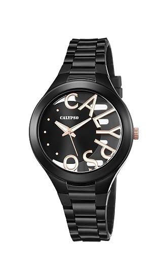 Calypso Reloj Análogo clásico para Mujer de Cuarzo con Correa en Plástico K5678/8