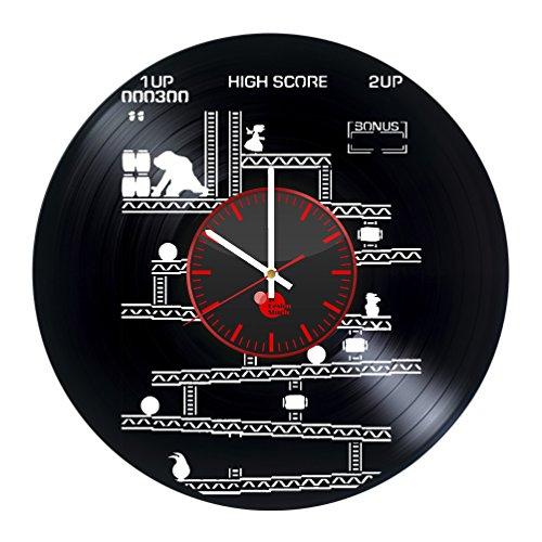 Donkey Kong Gameplay Arcade Video Game Handmade Vinyl Record