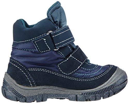 Primigi KALMAR 1-E - zapatillas deportivas altas de cuero niña azul - Blau (NAVY/NAVY)
