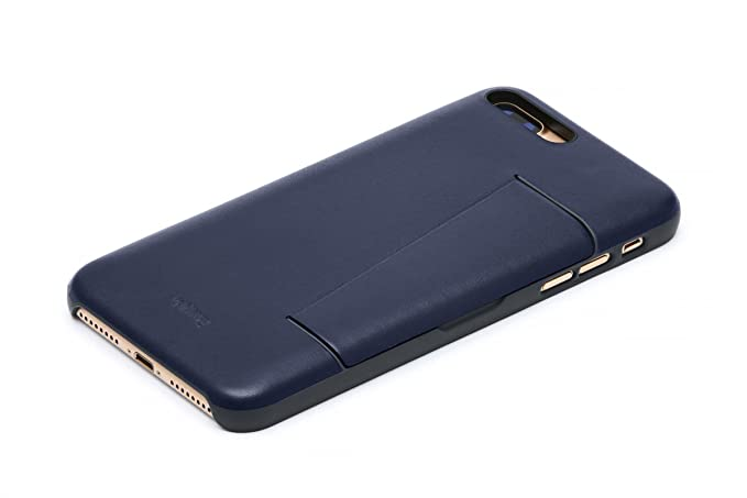 online store 16ed7 089d2 Bellroy Leather iPhone 8 Plus / 7 Plus Phone Case - 3 Card - Navy