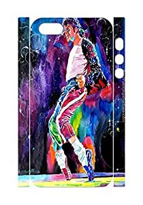 2015 popular Michael Jackson Case for Iphone 5,5S, Michael Jackson Dance Painting phone Case for Iphone 5,5S.