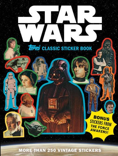 Price comparison product image Star Wars Topps Classic Sticker Book