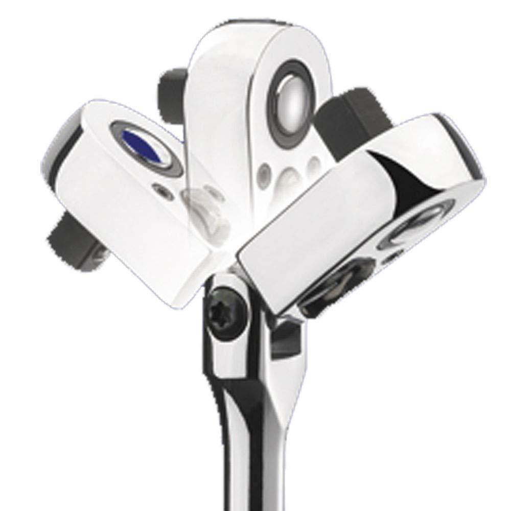 """Clarke PRO158 /½/"""" 1//2 Swivel Flexible Flexi Head Ratchet Wrench"""
