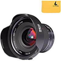 Meike 12mm f/2.8 Ultra Wide Angle Fixed Lens with Removeable Hood for Sony Alpha