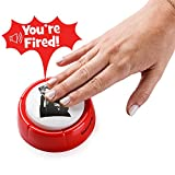 naughty bear 2 - Donald Trump You're Fired Sound Button Gag Toy | Hilarious Red Base With Angry Donald Trump's Face On Top | Push The Button Funny Sound Effect Political Boss Gift | 2 AAA Batteries Included