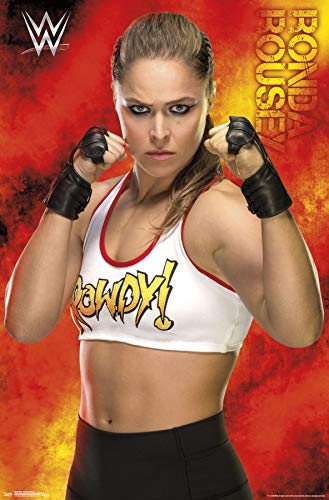 Trends International WWE - Ronda Rousey 18 Wall Poster, Multi