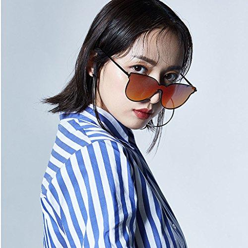 Una C Redonda Polarizadas Pieza Beat Street Moda Cara B GAOYANG De De Sol Color De Femenina Sola Gafas Gato Sol De Sol Femeninas De Gafas Gafas De Ojo PxxIpTwY