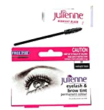 Julienne Permanent Eyelash And Brow Colour Tint With Precision Eye Wand-01 Midnight Black