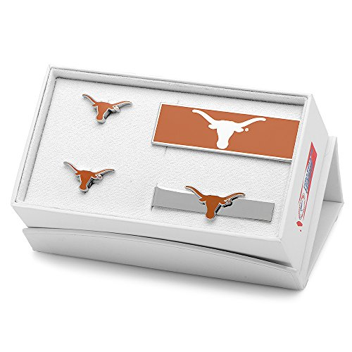 NCAA Mens University Of Texas Longhorns 3-Piece Gift Set by Cufflinks