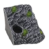 MagiDeal Turtle Island Basking Rock Platform for Reptile Vivarium/Terrarium/Aquariums