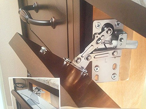 Rev-A-Shelf LD-0220-50SC Pair of Soft-Close Pivot Hinges (Under Hinge Cabinet)