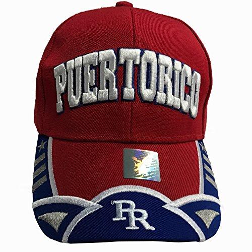 Puerto Rico Baseball Caps - 9