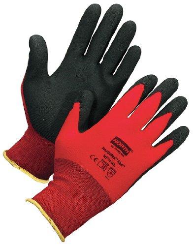 Black Pvc Coated Gloves - 4