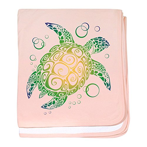 CafePress - Sea Turtle - Baby Blanket, Super Soft Newborn Swaddle