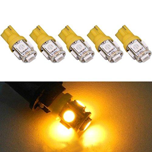 5 SMD Light bulbs Tuscom Xenon