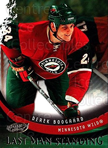 (CI) Derek Boogaard Hockey Card 2006-07 UD Power Play Last Man Standing 2 Derek Boogaard