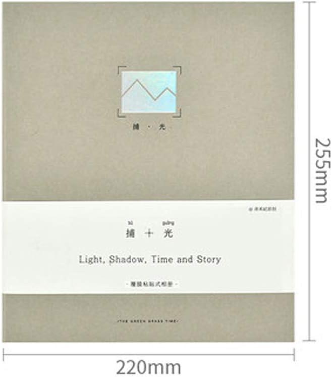 Sello del álbum, álbum for sellos, de alta capacidad, usada for los álbumes de bebé Registro del Crecimiento, sello familia Colecciones, la atracción de entradas Postal Colección, gris, verde, azul, m: Amazon.es: