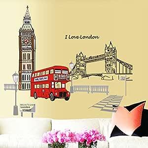 ملصقات جدارية مبتكرة من البولي فينيل كلوريد من ملصقات لندن باص