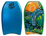662 Brophy Graphic Kickboard, Aqua Blue, 21''