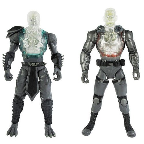 Reptile Mortal Kombat Costumes (Mortal Kombat Internal Devastation X - Ray Pack 6 inch Reptile and Jax 2 pack Action Figure)