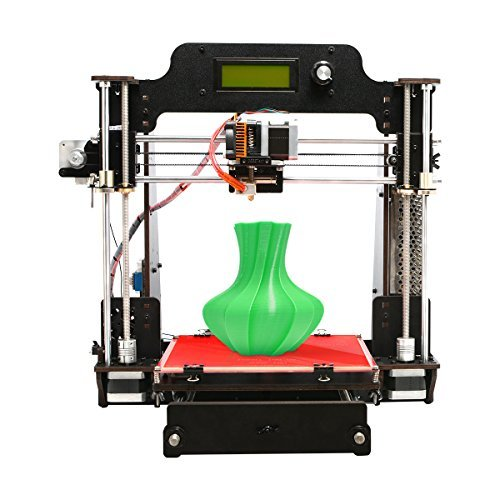 GEEETECH 3D Printer,Wooden Prusa I3 Pro W Desktop 3D Printer DIY Kit with WiFi Cloud,200x200x180mm(7.9''7.9''7.1'')Printing Size,Support 3D WiFi Module, EasyPrint 3D App.