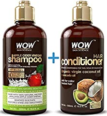 Save 34% on Shampoo & Conditioners Set by WOW