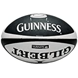 Classic Guinness Design Rugby Match Ball, Made By Gilbert Size 5