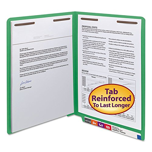 SMD25150 - Smead Watershed/CutLess End Tab Fastener Folders