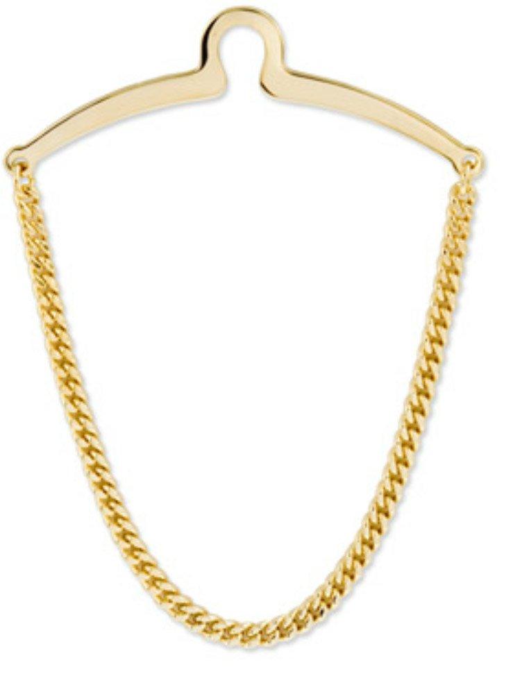 New Tie Chain Gold Herringbone