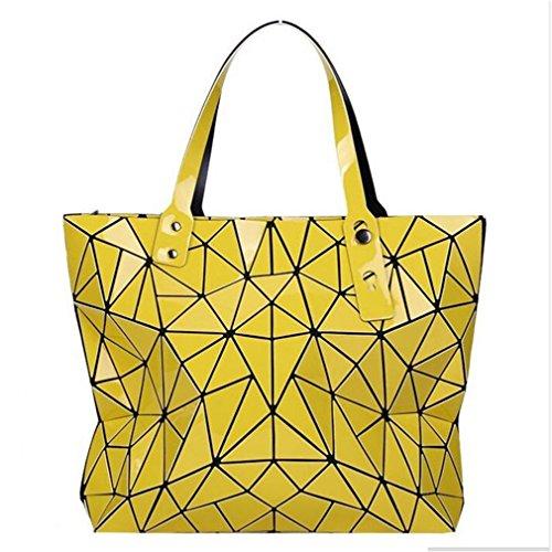 para BLACKHEI Bolso única Talla Hombro Oscuro al Amarillo Azul Mujer 1gtrZgqw