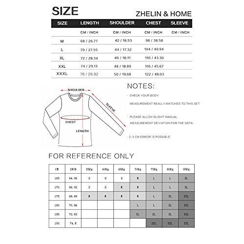 Corta Ocasionales tamaño En Con Nuevo 2018 Escote La Mangas De Manga Camisetas Los Hombres Xue S Larga Style V Sólido Zapatos Las A A6UtywxH