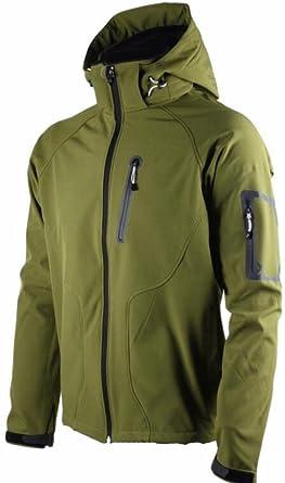 984e614495c HTOOHTOOH Mens Waterproof Windproof Hiking Flannel Lined Rain Jacket Winter  Coat 1 XS
