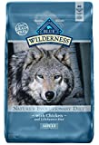 #8: BLUE Wilderness Adult Grain Free Chicken Dry Dog Food 24-lb
