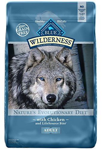 t Grain Free Chicken Dry Dog Food 24-lb (Blue Buffalo Adult Chicken)