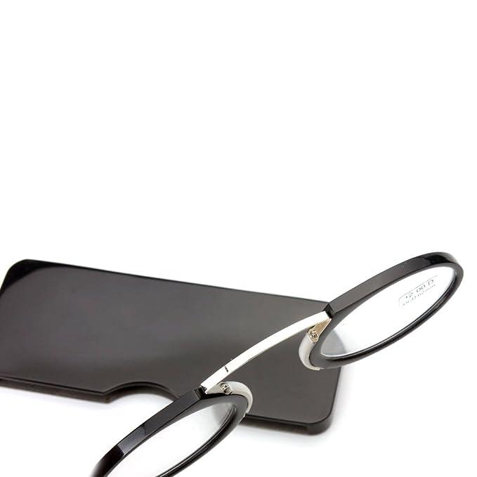 Lesung Brille Kunststoff Titan Frame Tragbare Notfall überall Lesung Brille, Mini-Lesebrille / Stärke +1.0 bis +3,5 (Magnification strength: 1.5 x)