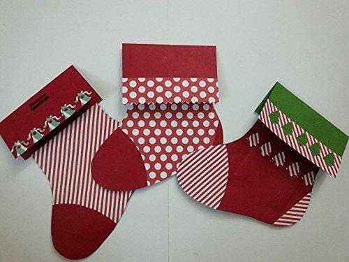 Amazon Com Gift Card Holder Christmas Stocking Style Handmade